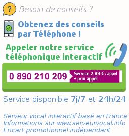 Aide par telephone