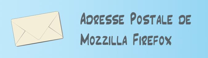 Adresse Mozilla