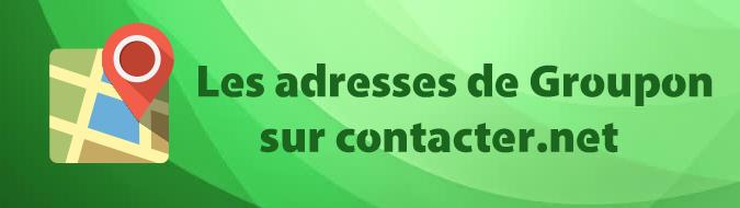 Adresse Groupon