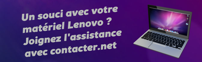 Assistance Lenovo