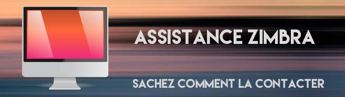 Assistance Zimbra