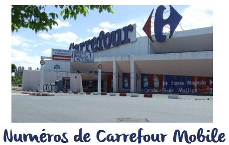 Contact Carrefour Mobile