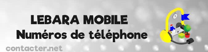 Contact Lebara mobile