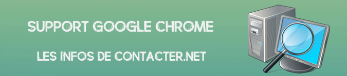 Contacter Google Chrome