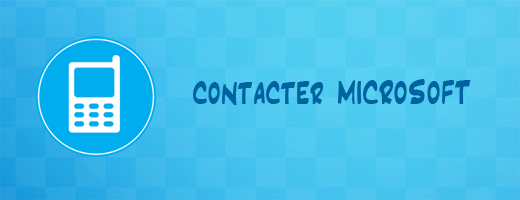 Contacter Microsoft