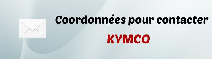 Coordonnees Kymco
