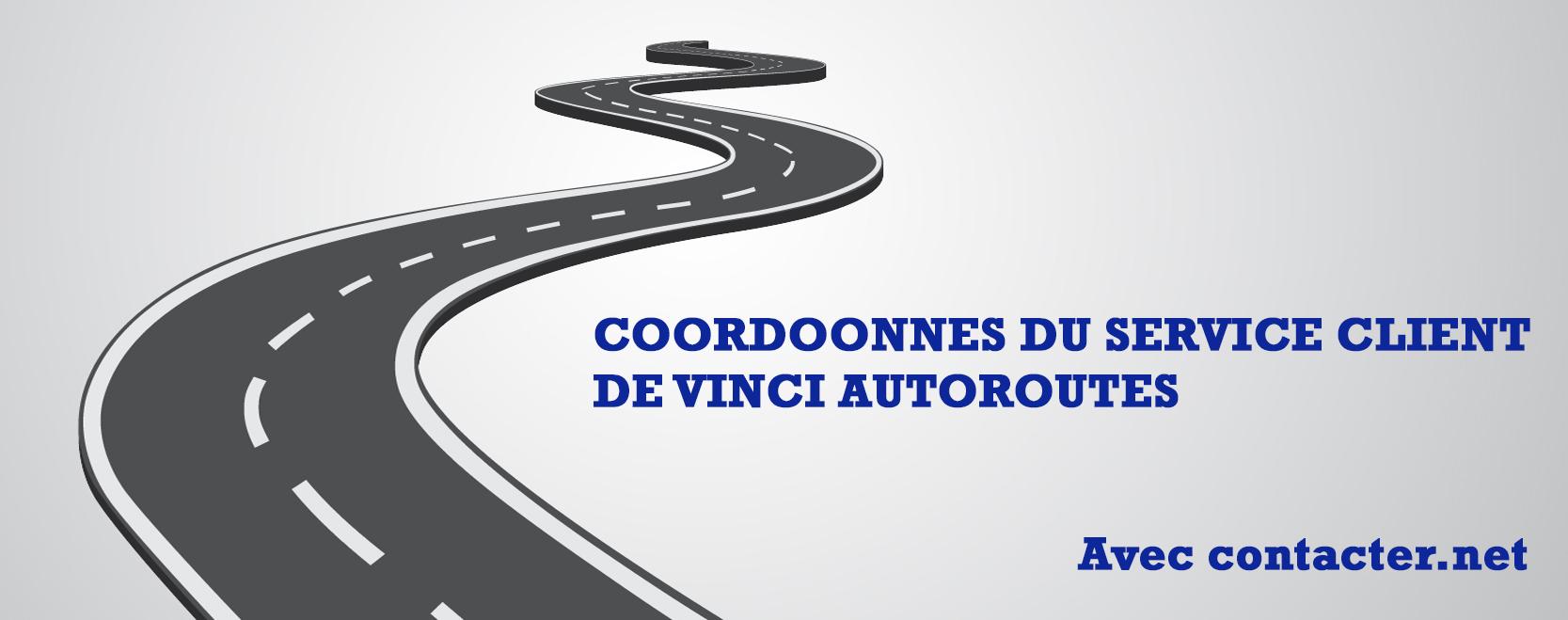 Coordonnes du service client VINCI AUTOROUTES