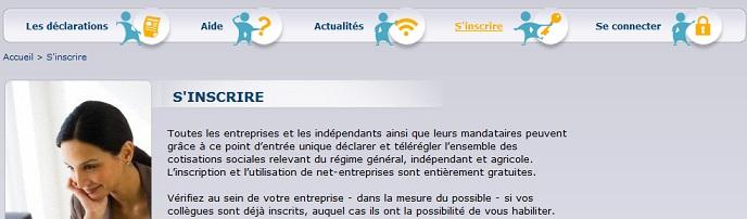 Net entreprise site