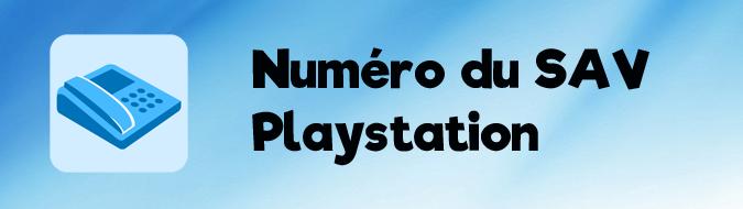 Numéro SAV PS4