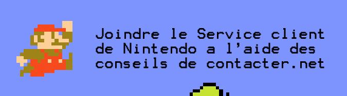 Service Client Nintendo