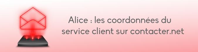 Service client Alice