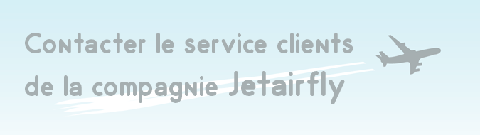 Service client Jetairfly