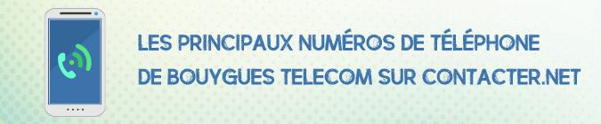Telephone Bouygues