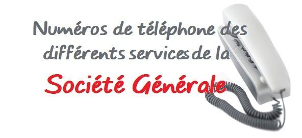 Telephone Societe Generale