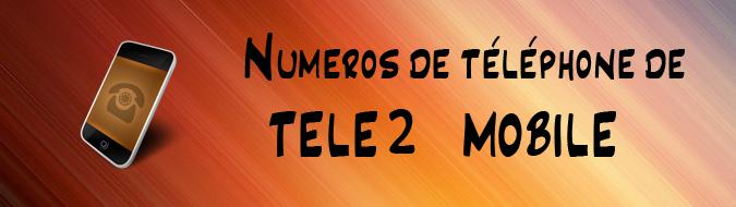 Telephone Tele2