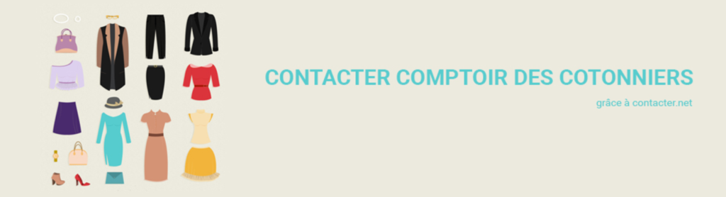 comptoir cotonniers
