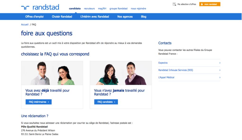 Comment contacter randstad toutes les coordonn es de l 39 agence - Comment contacter l afub ...