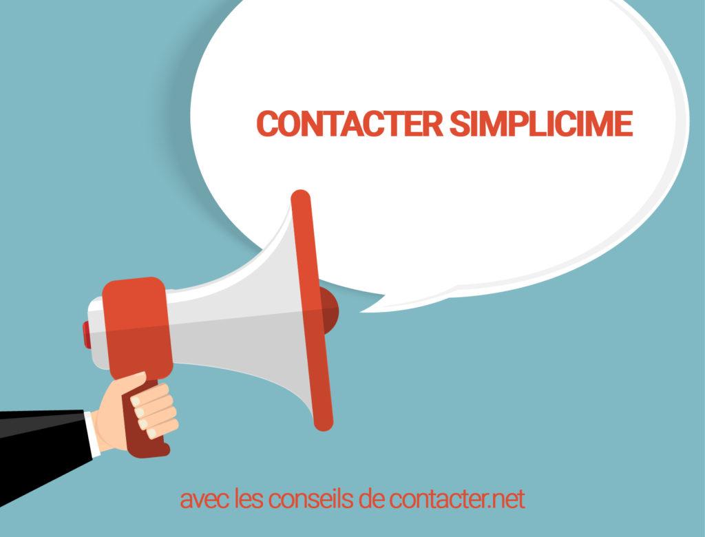 contacter simplicime