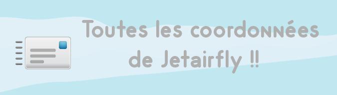coordonnees Jetairfly