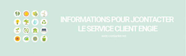 informations pour joindre engie