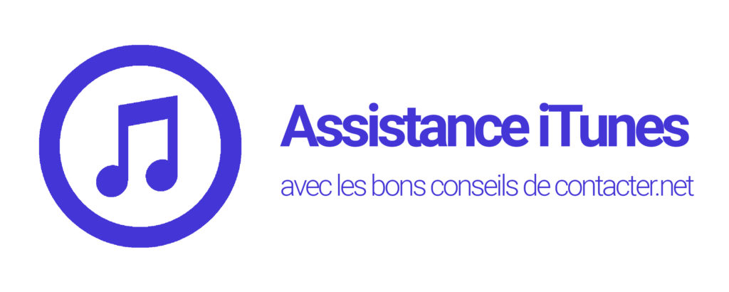 joindre l'assistance itunes
