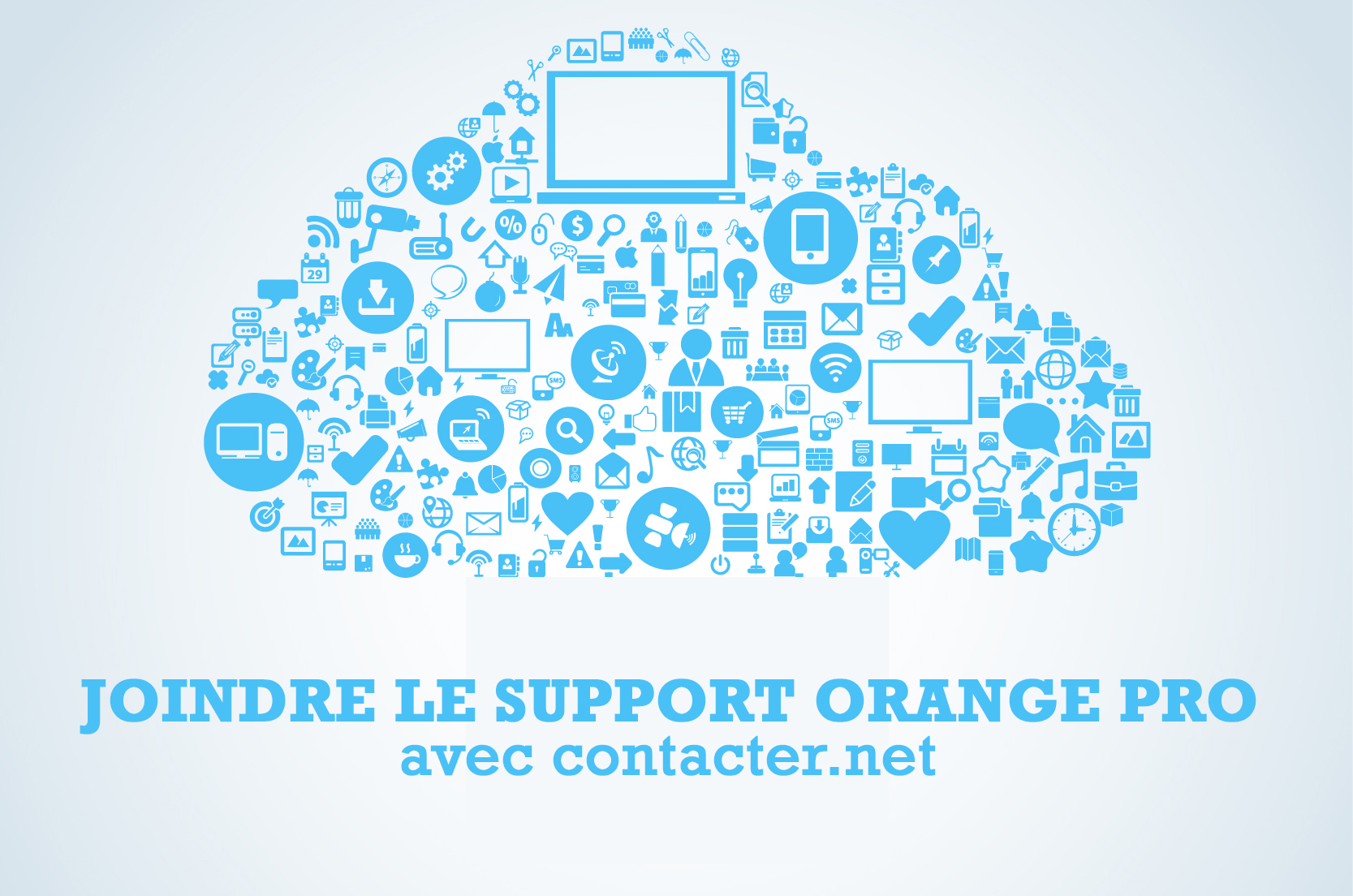 joindre le support orange pro