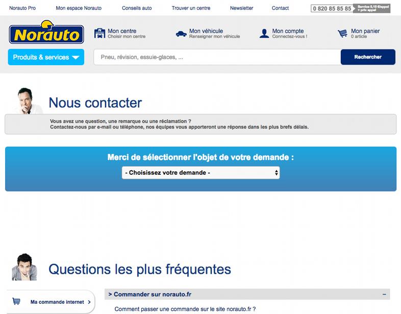 contact norauto