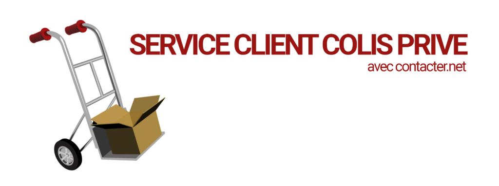 service client colis privé