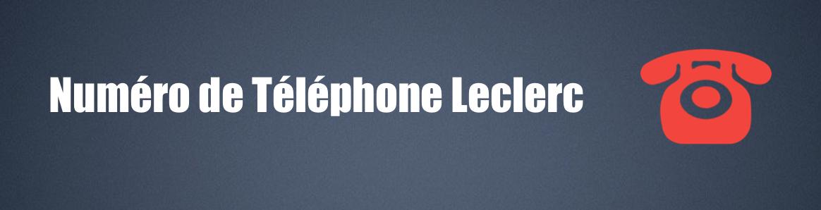 téléphone leclerc