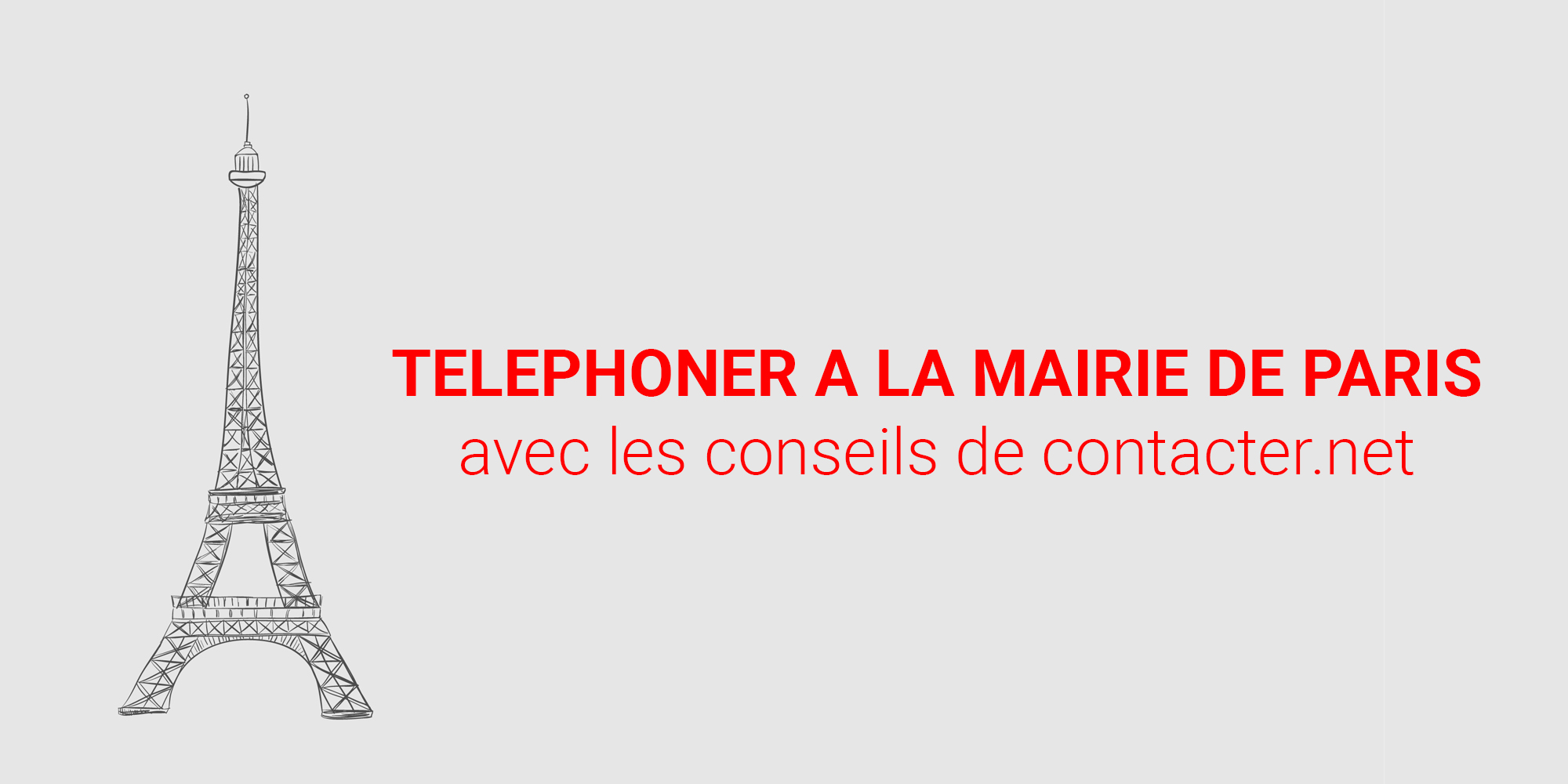 telephoner a la mairie de paris